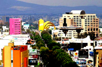 panoramic city view of Guadalajara