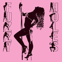 the porn pink logo of Fuzzy Holes, a Queretaro club