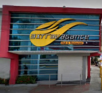 exterior view of Extravagance Strip Club