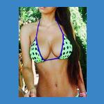 Busty Nicole Cabo Escort In a Bikini