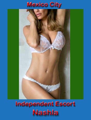 slender hooker in white bra and panties